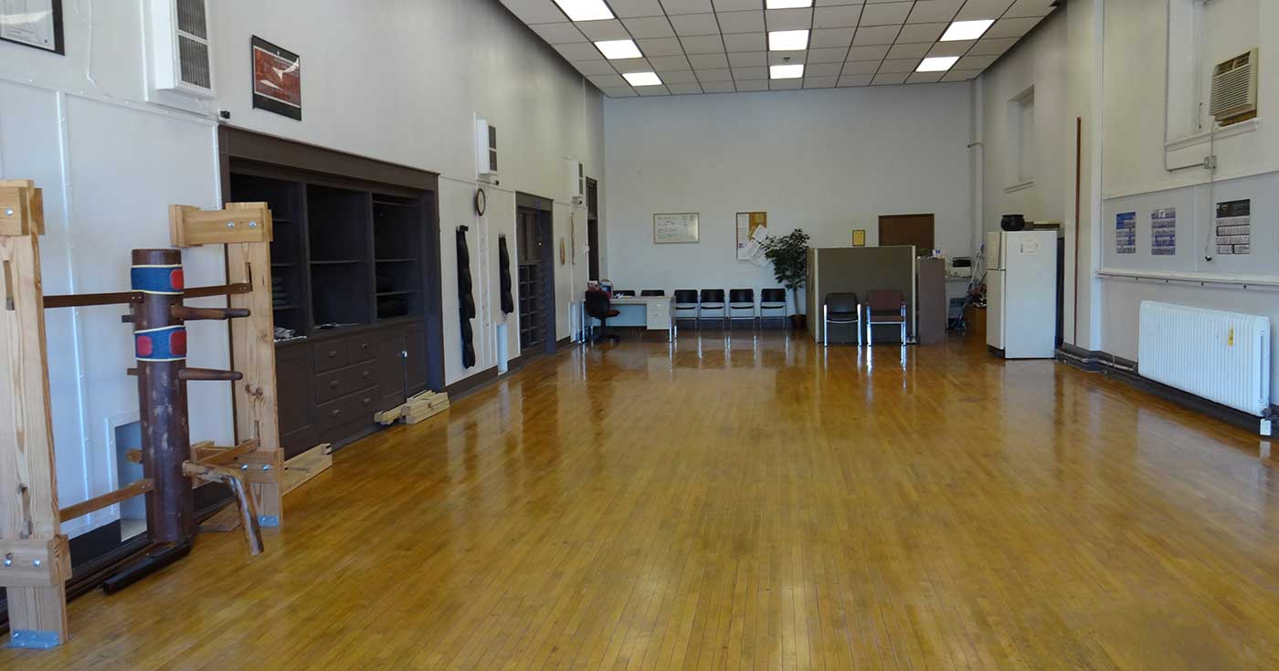 Photo: The training floor of Dynamic Martial Arts of Bloomington-Normal